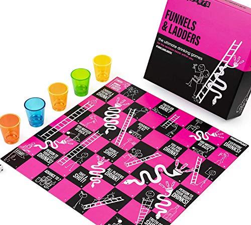 FUNNELS & LADDERS Trinkspiel