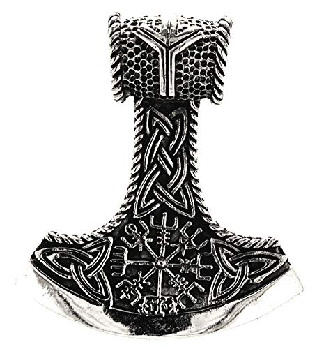 Kiss of Leather Anhänger Thorshammer aus 925 Sterling Silber Nr. 347