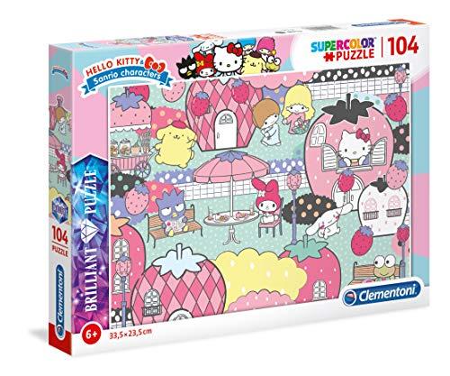 Puzzle 104 Piezas Efecto Diamante Hello Kitty (20172.3)
