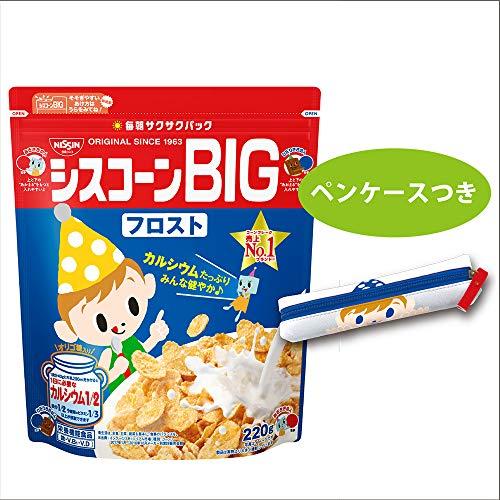 日清シスコ シスコーンBIG フロスト(ペンケース付き) 220g ×6袋