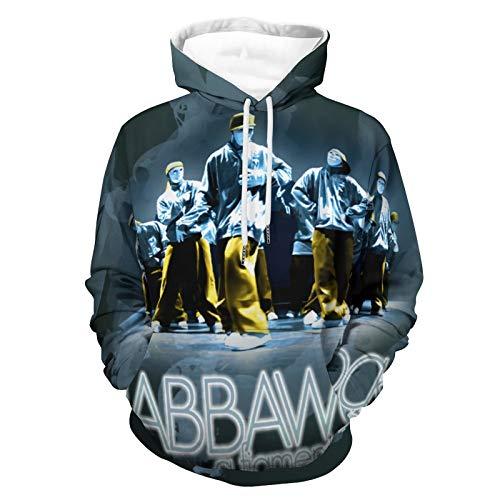Jabbawockeez 3D Hoodie Casual Streetwear Unisex Pullover Hooded Sweatshirts Hoodies XL