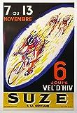 Cyclisme Suze Vel d'Hiv Poster, Reproduktion/Format 50 x 70