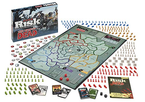 Risk The Walking Dead - Strategisch bordspel - Bescherm je land tegen de Walkers - Voor de hele familie - Taal: Nederlands