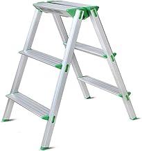 Familie opstapkrukje, Huishoudelijke stapruk ladder kruk visbone vouwen aluminium ladder brede pedaal