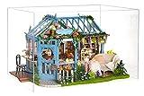 La Vida en Led DIY Invernadero Jardín Casa de Muñecas de Te Puzzle 3D con Luz...