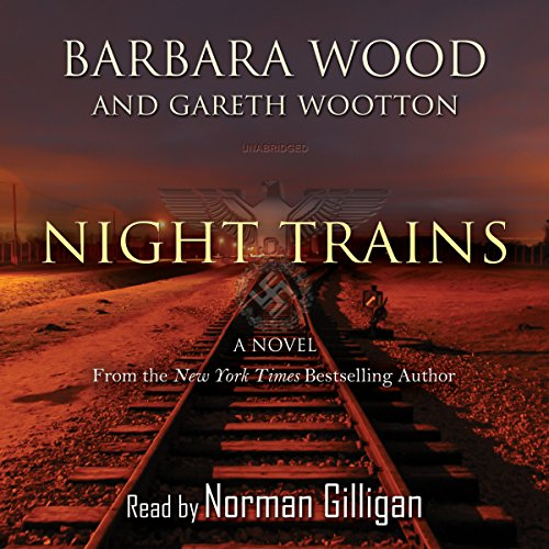 Night Trains audiobook cover art