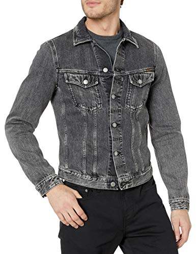 Nudie Jeans Men's Billy Grey Stardust, M