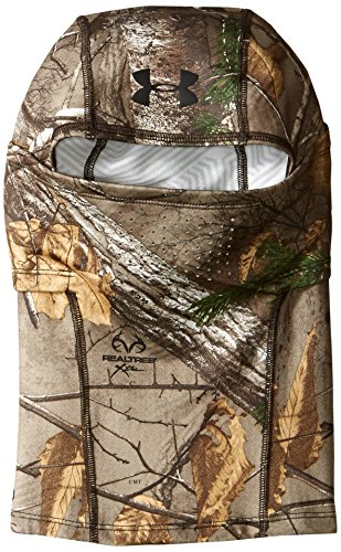 Under Armour Men's ColdGear Infrared Scent Control Balaclava , Realtree Ap-Xtra (946)/Black , One Size Fits All
