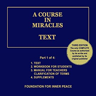 A Course in Miracles: Text, Vol. 1 audiobook cover art