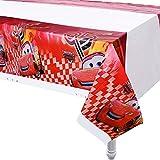 3pcs Cartoon car Theme Tablecloth Party Supplies
