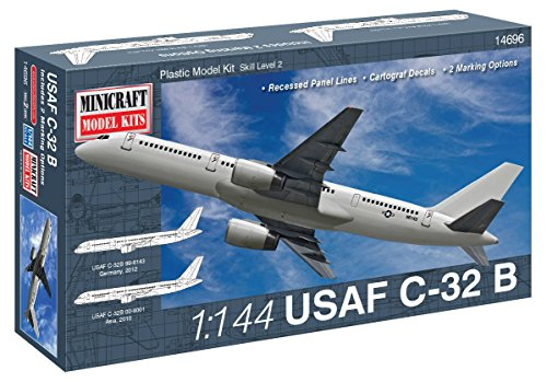 Minicraft Models Dempsey Designs Morceau modèles Echelle 1 : 144 cm U.S.A.F C-32B modèle Kit