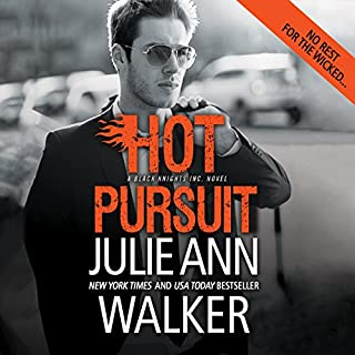 Hot Pursuit                   By:                                                                                                                                 Julie Ann Walker                               Narrated by:                                                                                                                                 Emily Beresford                      Length: 9 hrs and 59 mins     67 ratings     Overall 4.0