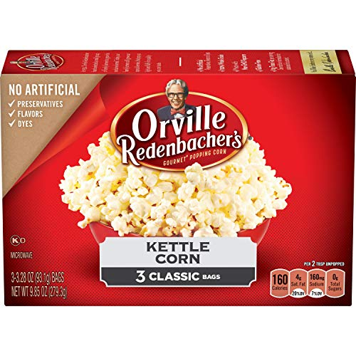 Orville Redenbacher's Kettle Corn Microwave Popcorn, 3.28oz 6ct bags
