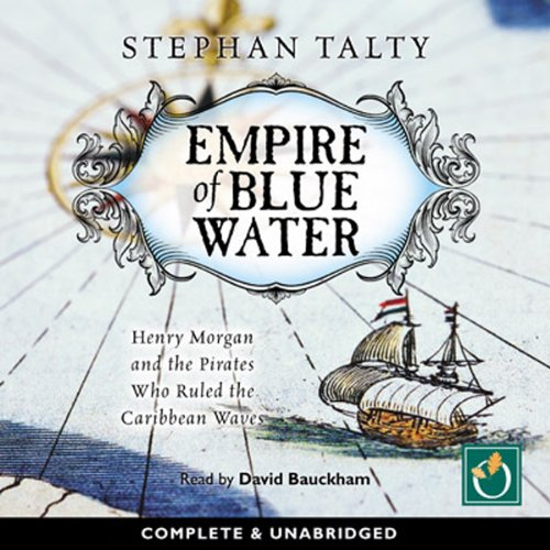 Empire of Blue Water audiobook cover art