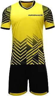 PAIRFORMANCE Boys' Soccer Jerseys Sports Team Training Uniform| Age 4-12 |Boys-Girls-Youth Sport Shirts and Shorts Set