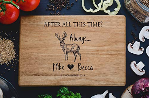 Always Harry Potter After all this time Custom Personalized Engraved Cutting Board Wedding Gift, Anniversary Housewarming Gift Birthday Corporate harry04