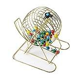FLBTY Juego De Bingo Lucky Ball, Bingo Lotto Numbers Large Bingo Masters Ceremony Banquet Event Shaker 75 Bolas, Adecuado para Conferencias Anuales, Bodas, Banquetes, Juegos De Sorteo