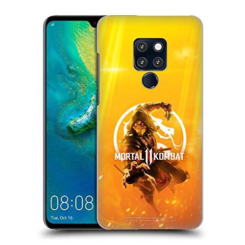 Head Case Designs Offizielle Mortal Kombat 11 Schluessel Kunst Logo Kunst Harte Rueckseiten Huelle kompatibel mit Huawei Mate 20