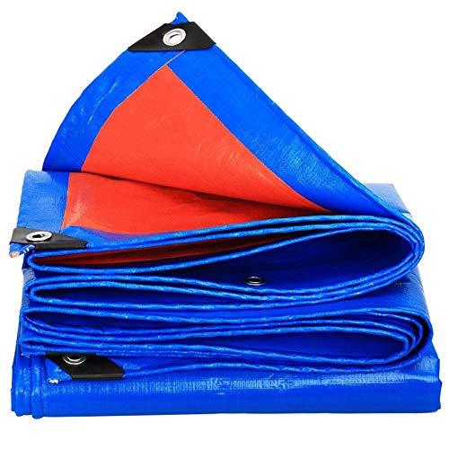 LJFPB Tout Usage Bleu Intense - 0.35mm 160g/m² (Taille : 8x12m)