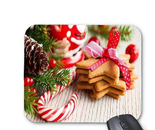 Weihnachtsplätzchen mit candy mouse pad