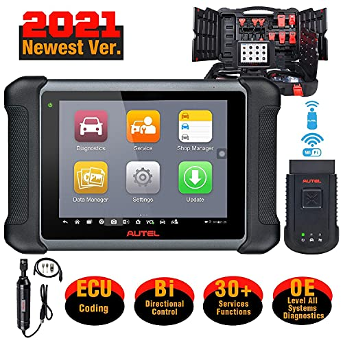 Autel MaxiSys MS906BT [+ $60 Valued MV108] Automotive Scan Tool, 2021 Newest with All Systems...