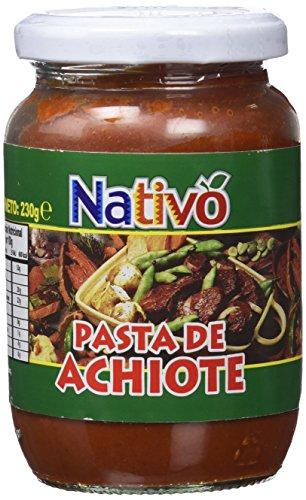 Nativo Pasta De Achiote - 230 gr - [Pack de 8]