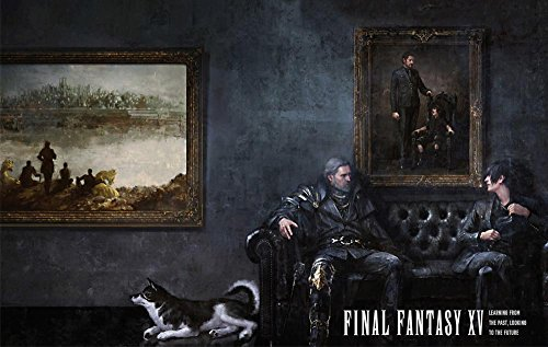 Printing Pira - Final Fantasy XV Poster Father and Son PS4 Exclusive (24x36)