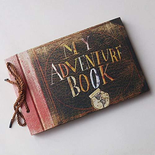 laoga Álbum My Adventure Book, Our Adventure Book, Our Adventure Book Up, DIY Scrapbook, Álbum De Fotos, 80 Páginas, Álbum De Bodas