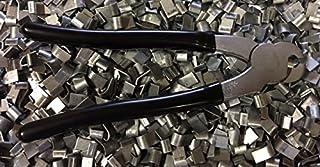 rabbitnipples.com J-Clip Pliers + 2 LBS of J-Clips, Black Handle j-Pliers j-Clip Pliers j-Pliers