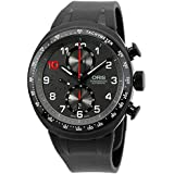 Oris Men's 77476117784RS Daryl O'Young Analog Display Swiss Automatic Black Watch