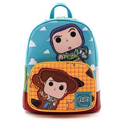 Loungefly POP Pixar Buzz Woody Mini Backpack-JO