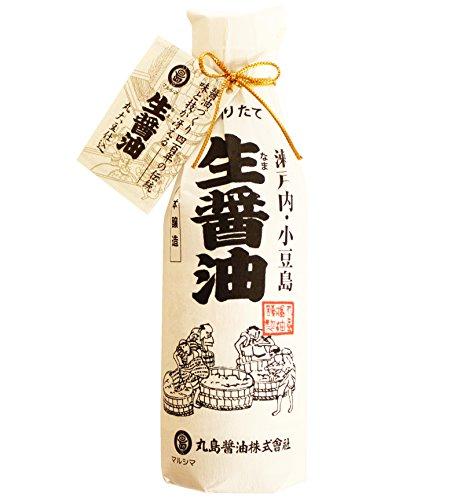丸島醤油 生醤油 濃口和紙巻 360ml