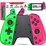 ESYWEN Replacement for Joy Cons for Switch Nintendo Controller, Macro, Motion Control for Switch joycon Controller, Replace for Joycon Switch Lite