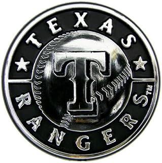 MLB Texas Rangers Chrome Automobile Emblem