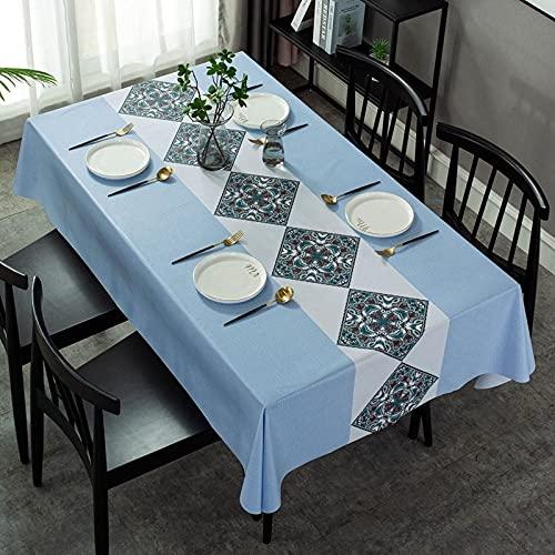 sans_marque Paño de mesa, mantel de fiesta, mantel de mesa, mantel de tela de mesa para interiores o exteriores, cumpleaños, boda Navidad100*160cm