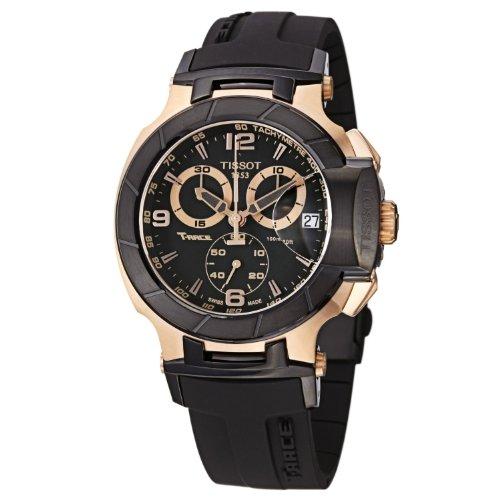 Tissot Men's T-Race Chronograph - T0484172705706 Black/Black One Size