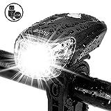 BIGO Luce Anteriore Bici USB Ricaricabile 1200 mAh Fanale per...