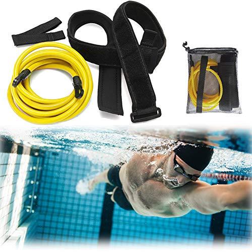iClosam Cinturón de Natación Nadador Estático Cinturón de Resistencia Entrenamiento para Adultos y Niños