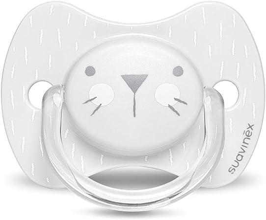 Suavinex Color rosa Chupete premium para beb/és +18 meses 0/% BPA Chupete con tetina fisiol/ógica de silicona