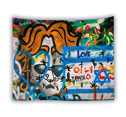 KHKJ Tapiz Colgante de Pared Fino Bohemio Cactus ilustración ilustración Tapiz Toalla de Playa Tapiz tapices A18 200x150cm