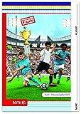 ROTH Hausaufgabenheft Color 'Fußball'