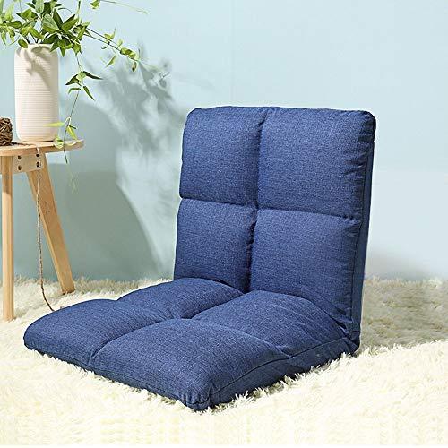 ZXL@ED Sofá Taburete Sofá ligero y grueso Sofá simple y moderno Silla plegable reclinable de un s
