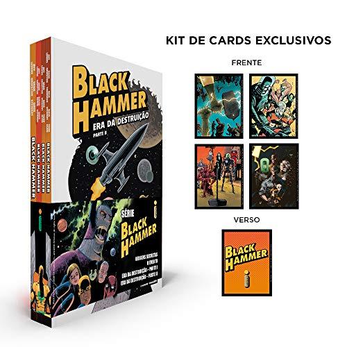 Coleção Black Hammer +kit De Cards - Exclusivo Amazon