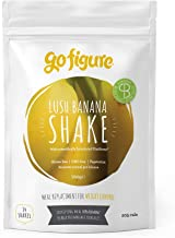 GoFigure Meal Replacement Shake with Science-Backed SlimBiomeA for Weight Management Feel Fuller Maintains Blood Glucose Supports Gut Health 14 Meals 700 Gram Pouch Lush Banana Estimated Price : £ 22,50