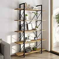 Yitahome Freestanding 5 Shelf Bookcase