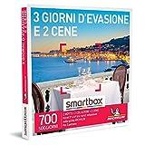 smartbox - Cofanetto Regalo - 3 Giorni d'evasione e 2 cene - Idee Regalo - 2 Notti con Colazione e 2 cene per 2 Persone
