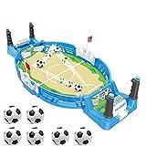 JDYDDSK Mesa de Foosball, Mini Mesa de fútbol para Adultos y niños, Juego de fútbol portátil, Mesa de Foosball, Entretenimiento para Fiestas |,6 balles