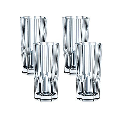 Spiegelau & Nachtmann, 4-teiliges Longdrink-Set, Kristallglas, 309 ml, Aspen, 0092127-0