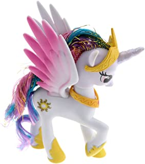 Kid Toy Model Gift For My Little Pony Princess Snow Globe Princess Celes 14CM
