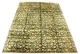 Ornamento de seda alfombra 297 x 230 cm 100% seda natural moderno diseño oriental alfombra de seda y Klias almacenado Outlet